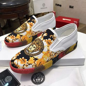 Versace Women Men Fashion Sneakers Sport Shoes