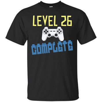 26 Years Old Birthday Gamer Gift Level 26 Complete Shirt