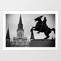 Jackson Square Art Print by Legends of Darkness Photography