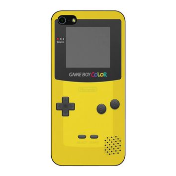 Yellow Nintendo Gameboy Color iPhone 5/5S/SE Case