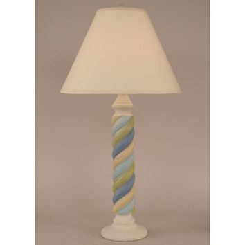 Coast Lamps Nude Golden Accent Small Rope Table Lamp
