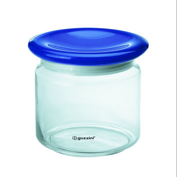 Guzzini Set of 2 Storage Jar 750 Cc in Blue