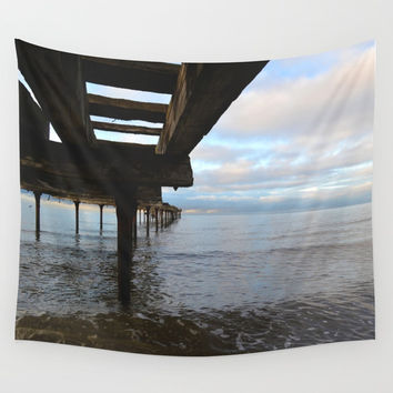 The Bridge Wall Tapestry by Marco Gonzalez