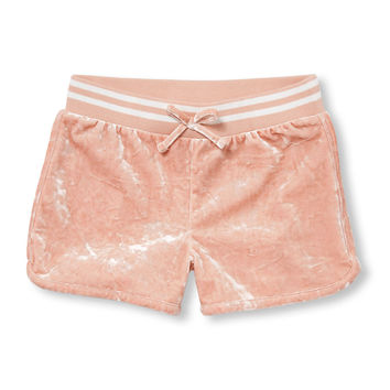 Girls Active Velour Shortie | The Children's Place