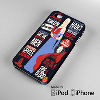 Khaleesi Quotes Game of Thrones A0660 iPhone 4S 5S 5C 6 6Plus, iPod 4 5, LG G2 G3, Sony Z2 Case