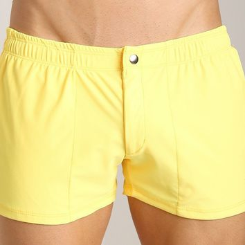 LASC- Brazil Swim Trunk-Yellow
