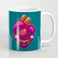 Happy Heart Mug by Artistic Dyslexia | Society6