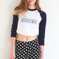 Wonderwall Crop Top