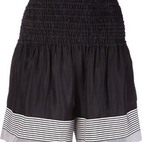 Acne Studios Striped Hem Shorts