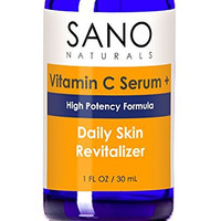 Vitamin C Serum For Face - 20% Concentration With Hyaluronic Acid - Delivers the Most Effective Antiaging Anti Wrinkle Skincare - Vit C Plus Vegan and Organic Ingredients