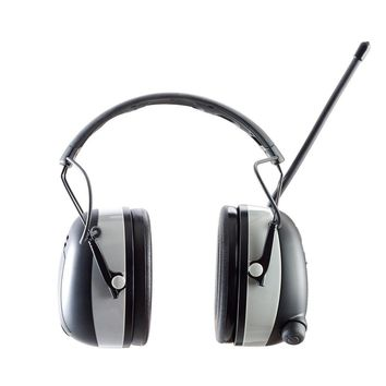 3M WorkTunes Black Wireless Hearing Protector with Bluetooth Technology-90542-3DC - The Home Depot