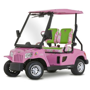 Lilly golf cart <3