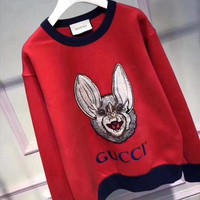 DCCKUN2 GUCCI  The small monster red sweater
