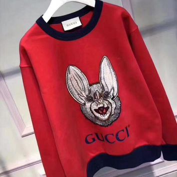 VONE058 GUCCI  The small monster red sweater