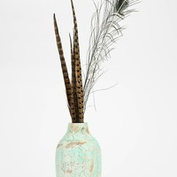 Distressed Wood Vase - Urban Outfitters