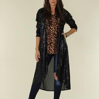 black sequin duster crazy train - Google Search