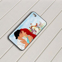 The Little Mermaid Ariel Eric Kissing iPhone 5 Case