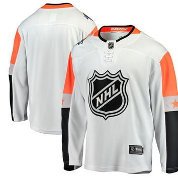 Men's Pacific Division Fanatics Branded White 2018 NHL All-Star Game Breakaway Jersey