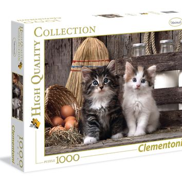 Lovely Kittens - 1000 Piece Jigsaw Puzzle