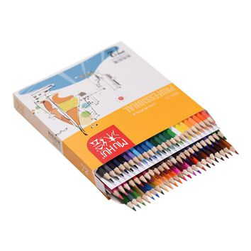72 Color Premium Pre-Sharpened Oil Based Colored Pencils Set for Artist Art Drawing Sketching Writing Artwork Coloring Books
