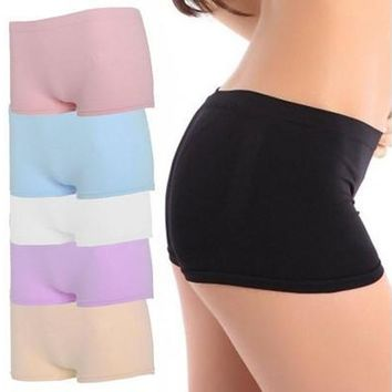 Wonderful Newest Women Ventilation Yoga Sports Gym Workout Waistband Skinny Shorts Pants [8270577729]