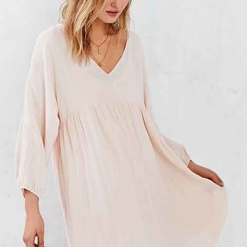 Little White Lies Cici Long-Sleeve Babydoll Dress