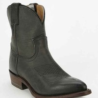 Frye Billy Mid-Rise Western Boot- Charcoal