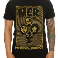 My Chemical Romance Lock Box Slim-Fit T-Shirt Size : X-Small