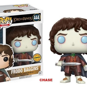 Funko Pop Movies The Lord of the Rings Frodo Baggins 444 13551 Chase
