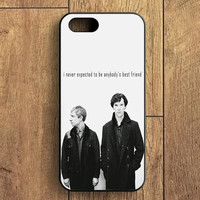 Sherlock Benedict Cumberbatch 221 Street iPhone 5S Case