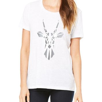 DEER ANTELOPE TEE Classic Bright White Paper Tee T-Shirt Tank Long Sleeve All Sizes