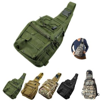 Military Tactical Over-One-Shoulder MOLLE Utility Bag