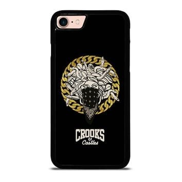 CROOKS AND CASTLES BANDANA iPhone 8 Case Cover