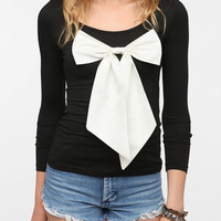 Reverse Oversized Bow Top