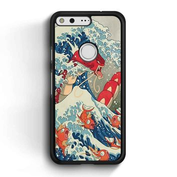 The Great Wave Off Kanto 2 Google Pixel Case