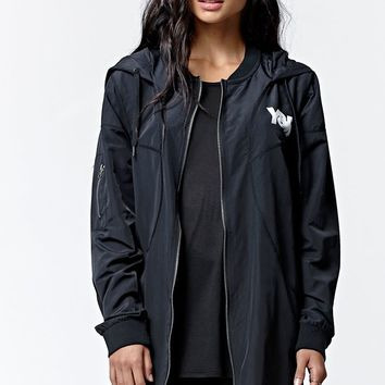 Young & Reckless Blazzted Windbreaker Jacket - Womens Jacket - Black