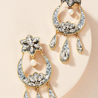Cara Moon Drop Earrings