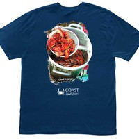 Crawfish Boil Tee by Coast - FINAL SALE