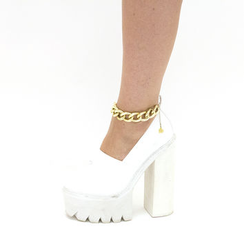 XL Gold Chain Anklets
