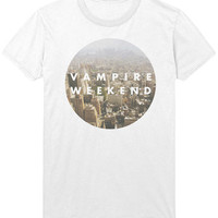 Vampire Weekend T-Shirt - City Skyline Indie Rock Music Shirt Sweatshirt - Mens / Womens