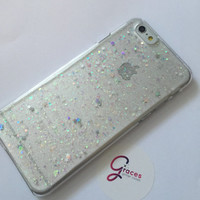 Centenary Diamond iridescent star heart iPhone 6+ 6 5s 5c 5 4s 4 phone case Samsung S5 S4 S3 phone case glitter
