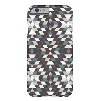 Modern Abstract Geometric Pattern iPhone 6 Case