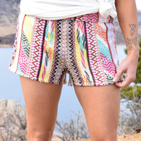Wild Canyon Tapestry Shorts