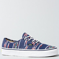 The Authentic Sneaker in Blue Guate Stripe