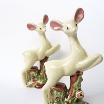 Deer Figurine or Statue Vintage Woodland or by CarpeDiemTreasures