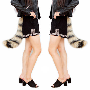 Halloween Fashion Adjustable Fur Tail  [9017656196]