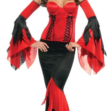 Secret Wishes Deluxe Devil Costume With Corset