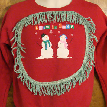 SNOW IN LOVE Christmas Sweatshirt