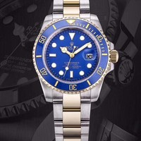 Rolex Watches Submariner Date Oyster Oystersteel And Yellow Gold | Blue Dial - Best Online Sale