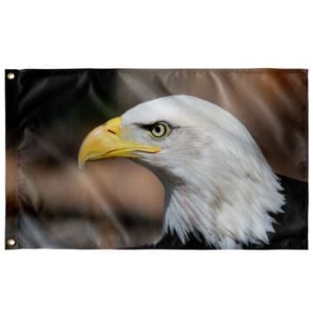 "Bald Eagle - Wall Flag 36""x60"""